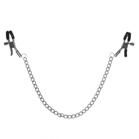 S&M - Chained Nipple clamps