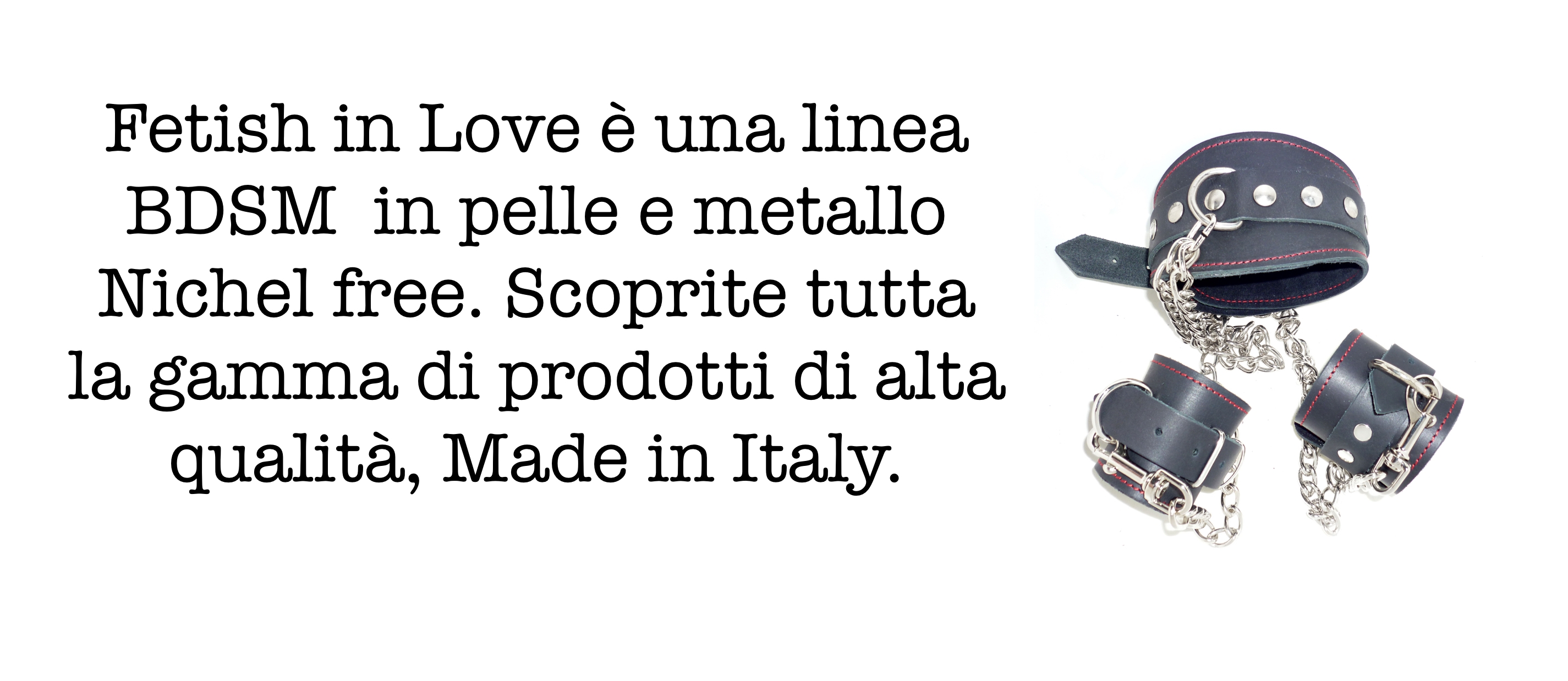 la pelle, made in Italy.