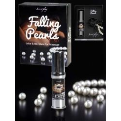 Falling Pearls - Gel e collana per massaggio